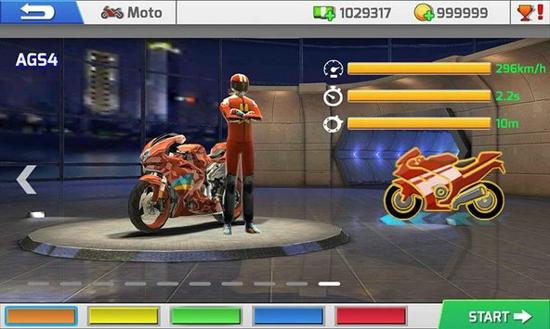 真实摩托赛车手游