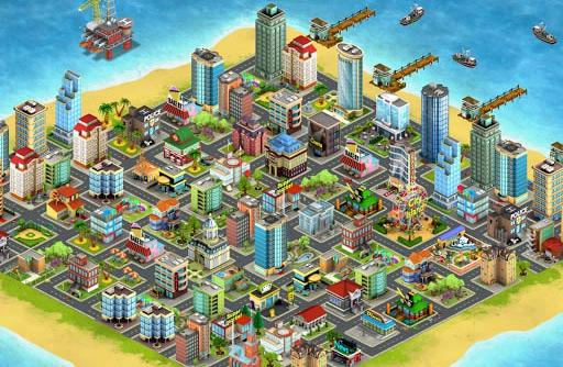 城市岛屿手游1