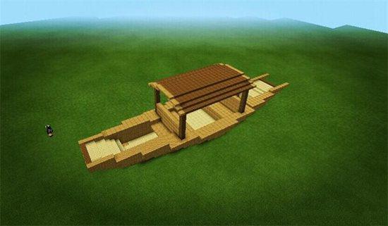 我的世界蓬蓬小船教程 蓬蓬小船怎么做