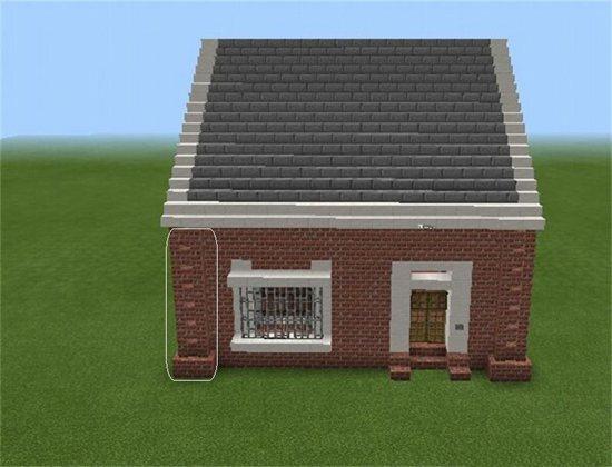 我的世界红砖房子教程 红砖房子怎么做