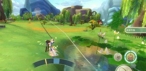 仙剑奇侠传移动版钓鱼玩法