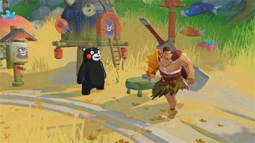 海岛纪元熊本熊位置