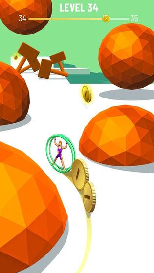 硬币向前冲游戏