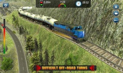 火车油罐运输手游