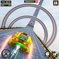 超级坡道特技赛车手机版