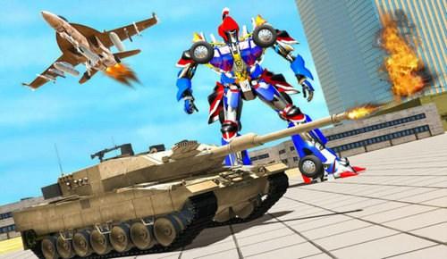 变形坦克机器人安卓版