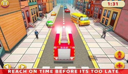 救护车和消防车模拟驾驶安卓版