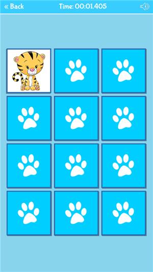 记忆游戏有趣的动物免费苹果版