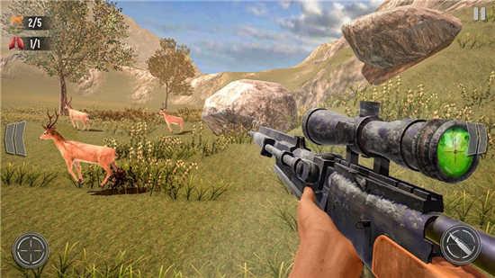 野鹿狩猎丛林射手最新官方版