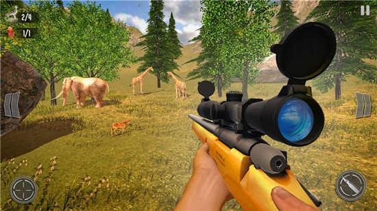 野鹿狩猎丛林射手安卓破解版