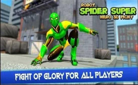 机器人英雄蜘蛛侠格斗手机汉化版