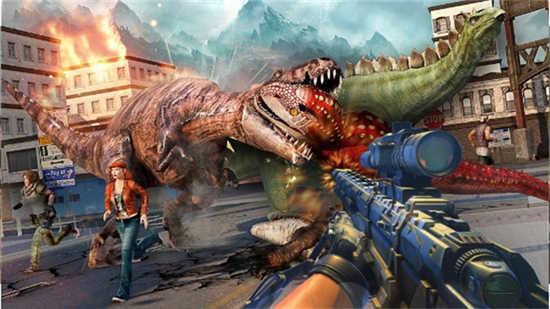 恐龙猎人狙击手3D最新破解版
