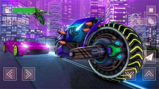摩托飞车未来城市手机中文版