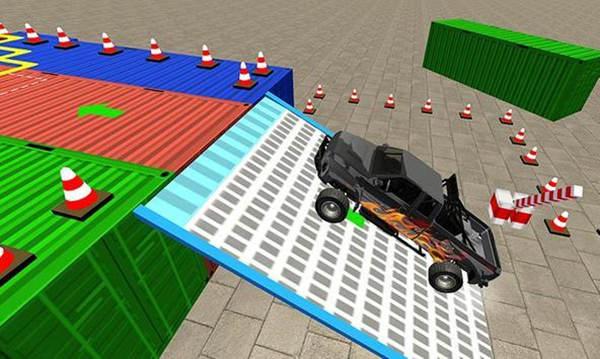 SUV极限赛道停车官方版