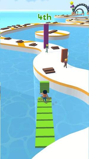 搭桥快跑游戏最新版中文版