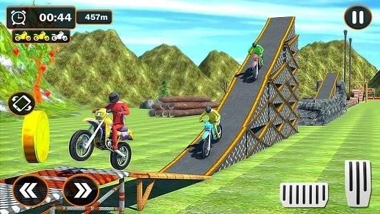 青山摩托车特技赛车手机版