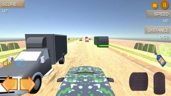沙漠公路奔跑正式版