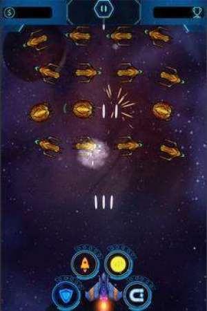 太空飞船银河攻击游戏