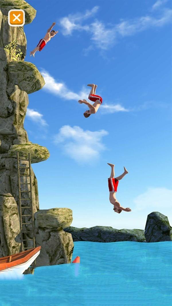 悬崖花样跳水游戏